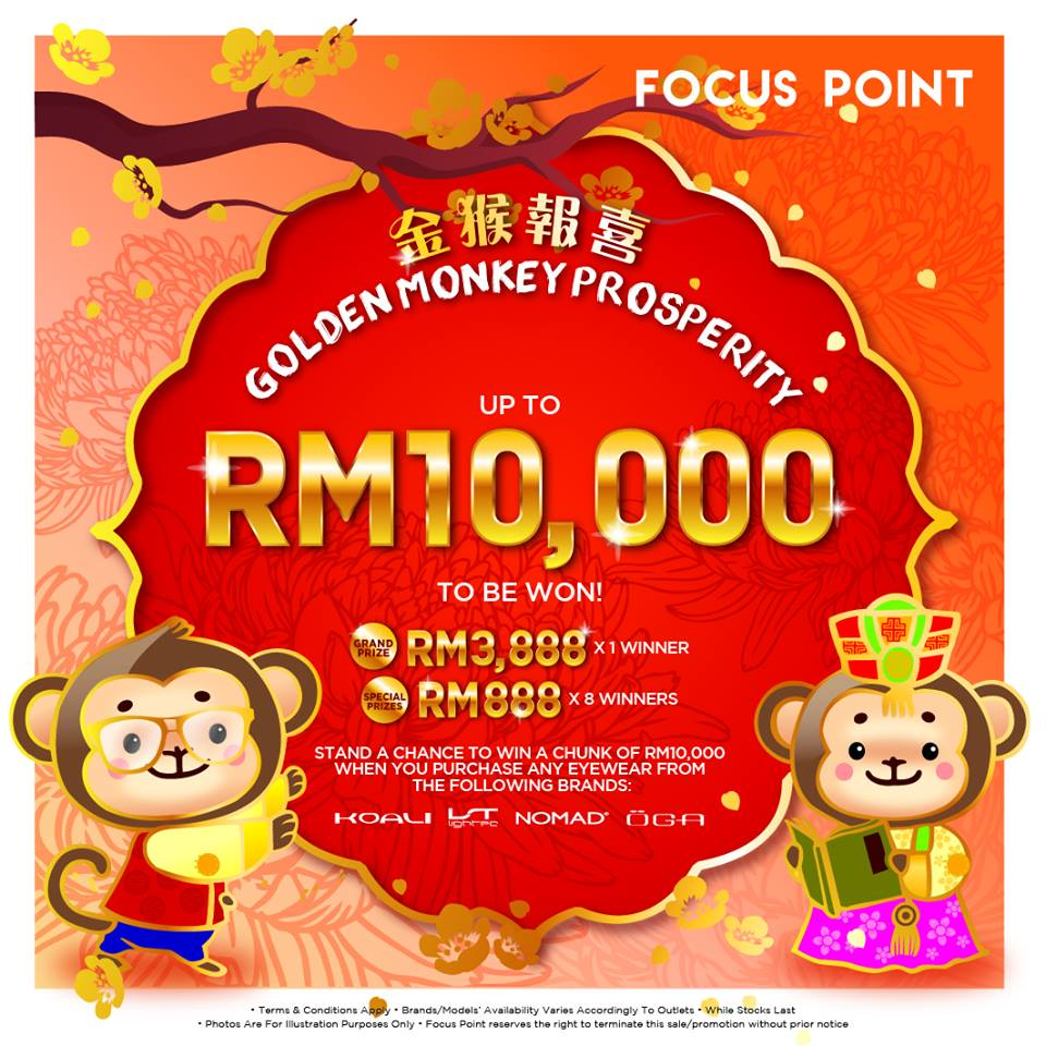 Rm10,000 to be won at Focus Point Vision Care Group