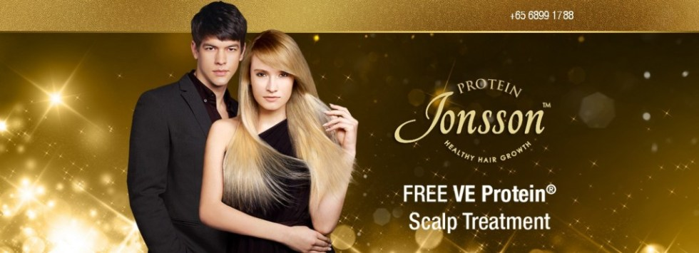 Sign up now to receive 1 Free Scalp Treatment PLUS! 3-pc Scalp Care Essential Kit at Jonsson Protein
