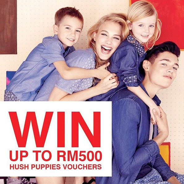 Stand a chance to win RM500 at Hush Puppies Malaysia