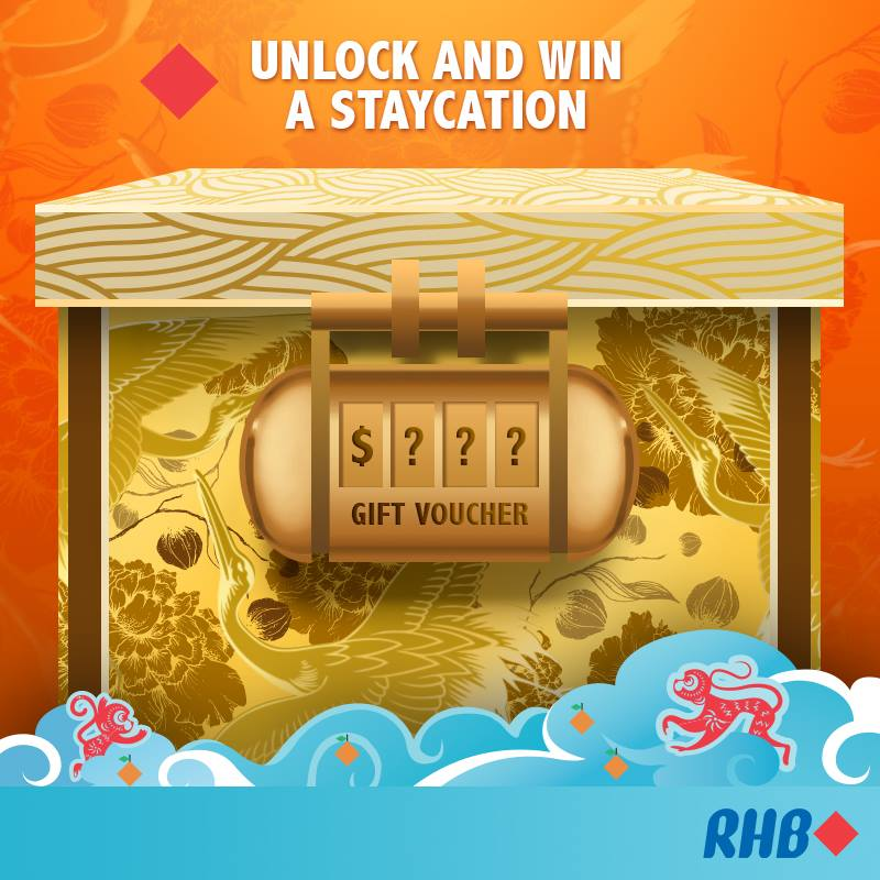 Stand a chance to win a 2D1N stay in Studio M worth S$390 at RHB Singapore