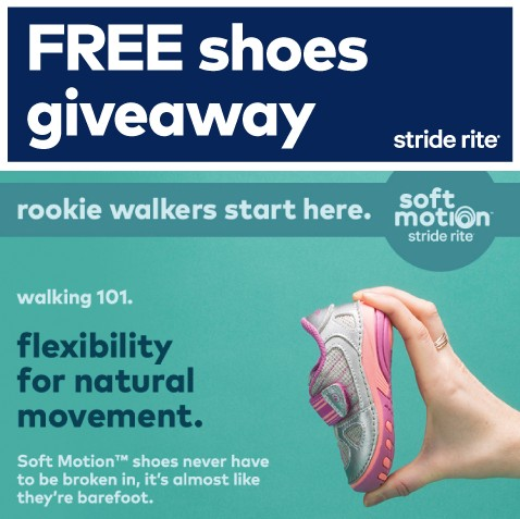 Stride Rite FREE SHOES GIVEAWAY contest at Stride Rite Malaysia