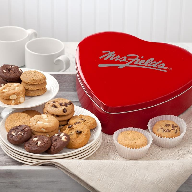 #WIN Classic Heart Tin at Mrs. Fields USA