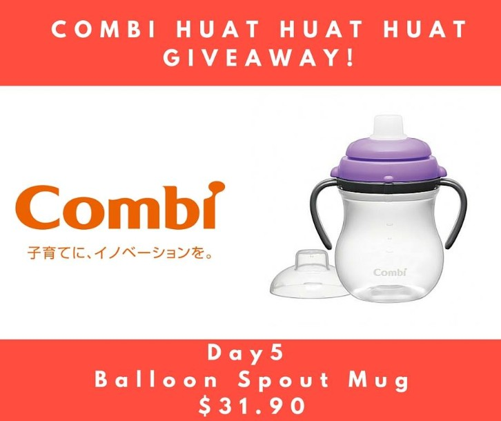Win a Combi Balloon Spout Mug worth $31.90