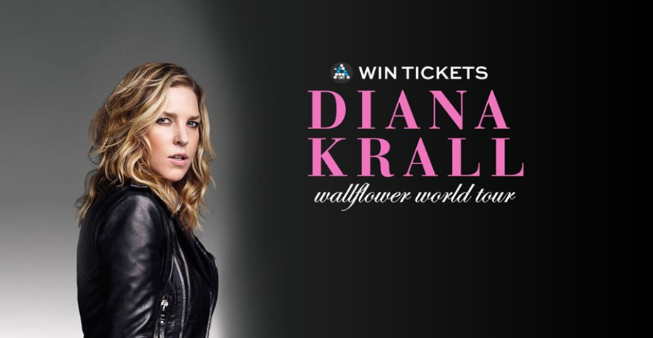 Win tickets to Diana Krall Wallflower World Tour at AList SG