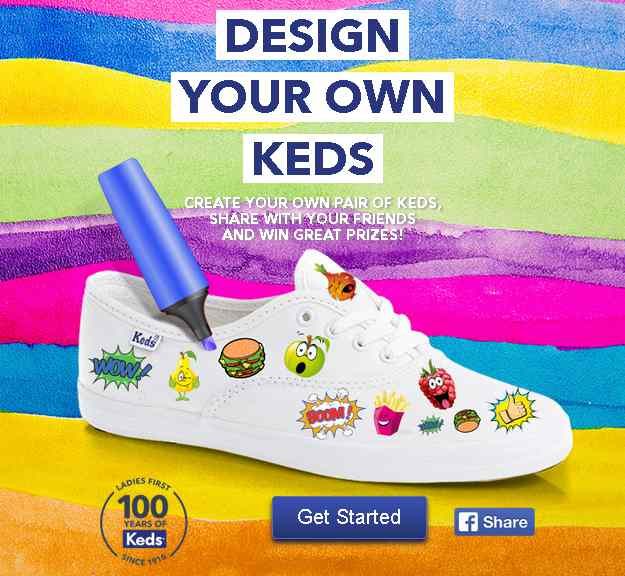 Design Your own Keds at Royal Sporting House Singapore