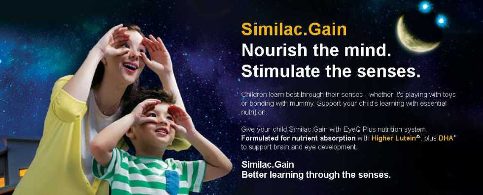 FREE 400g Sample of Similac Gain Singapore