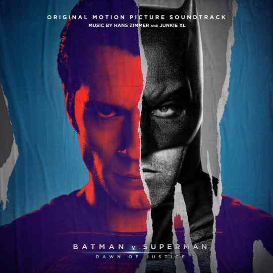 Giveaway Win the 'Batman v Superman' soundtrack, courtesy of WaterTower Music