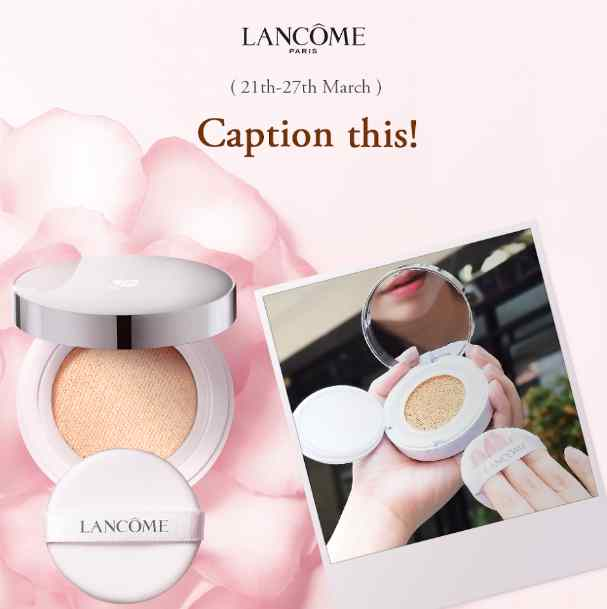LANCOME WEEK #3 CUSHION CHALLENGE
