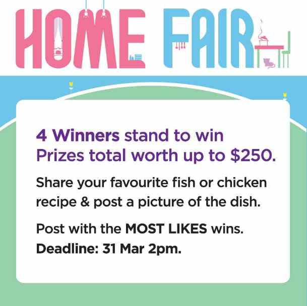 Win prizes total worth up to $250 at BHG Singapore