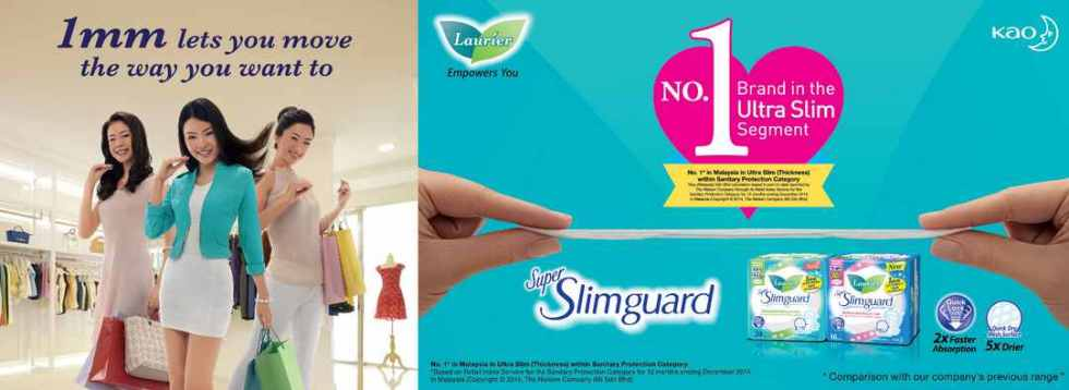 #Free Laurier Super Slimguard at KAO Malaysia
