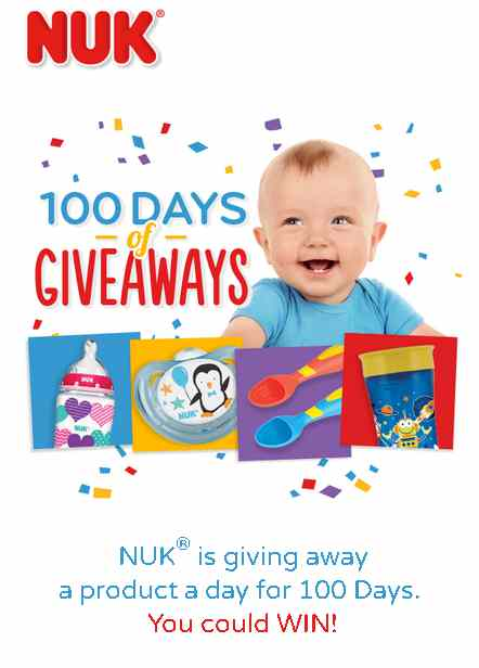 NUK® is giving away a product a day for 100 Days