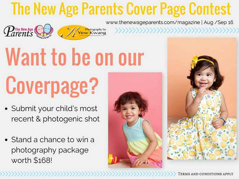 Stand a chance to win a photography package worth $168 at The New Age Parents