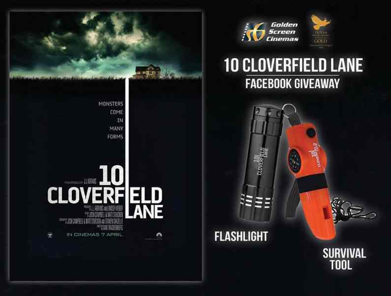 #Win limited edition Survival Tool & Flashlight from 10 Cloverfield Lane
