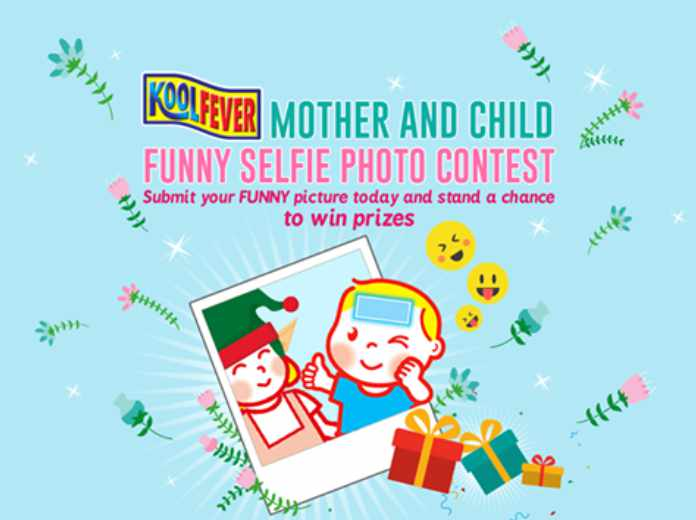 """""""Mother and Child Funny SELFIE Photo"""" contest at KOOLFEVER Malaysia"""