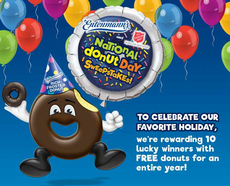 2016 ENTENMANN'S NATIONAL DONUT DAY SWEEPSTAKES