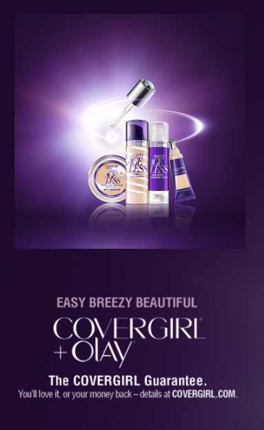 #FREE COVERGIRL + OLAY Simply Ageless 3-in-1 Liquid Foundation Sample