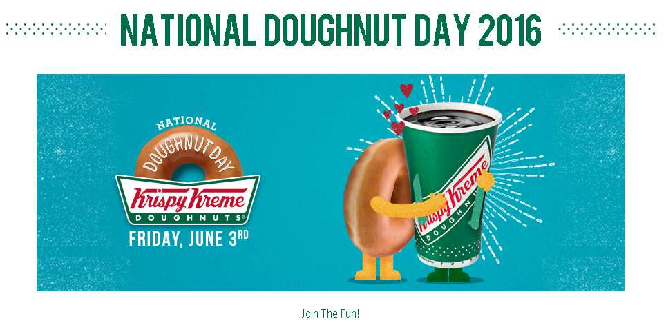 FREE doughnut at Krispy Kreme US or Canadian