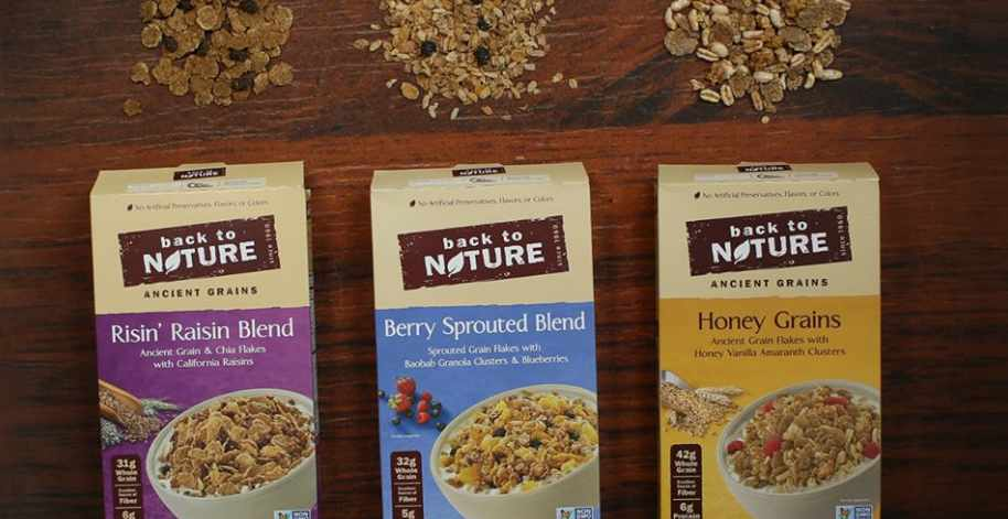 Free Back to Nature Cereal