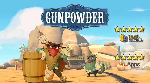 Free iOS Game Gunpowder