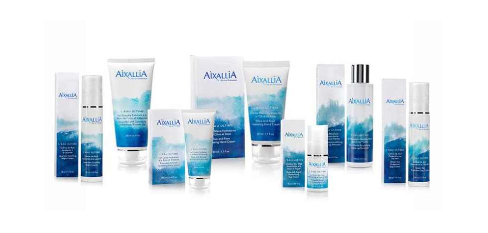 Free samples sachets of Aixallia