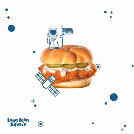 Try Fish Sandwich for free at Long John Silver's