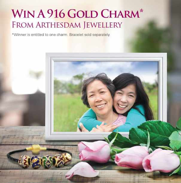 #WIN an elegant 916 Gold Charm from Arthesdam Jewellery at Singapore Assay Office