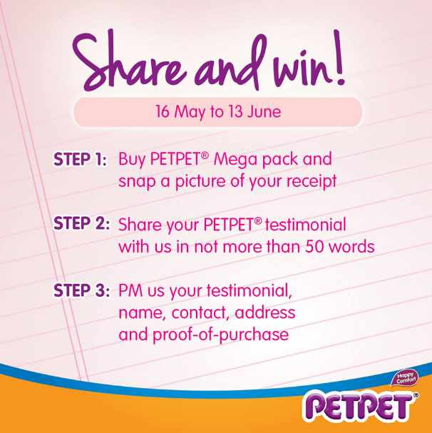 #Win 3 months of PETPET® Baby Diapers