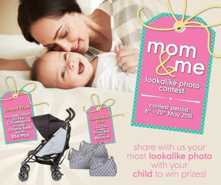 #Win the Summer Infant 3D Flip Convenience Stroller at Mothercare Malaysia
