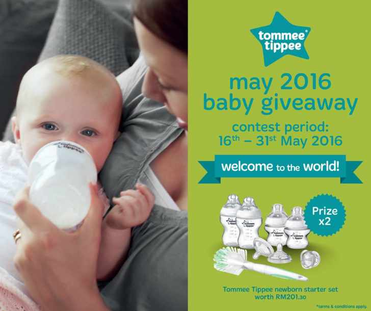 Win the Tommee Tippee newborn starter set worth RM201.30 at Tommee Tippee Malaysia