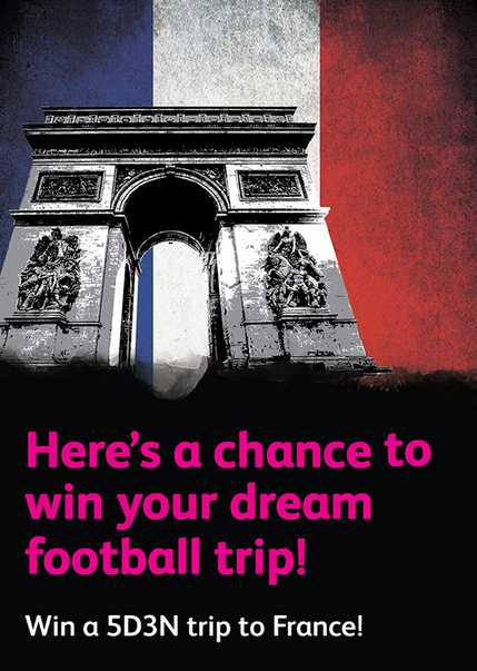 Win your dream experience to France at Astro Circle