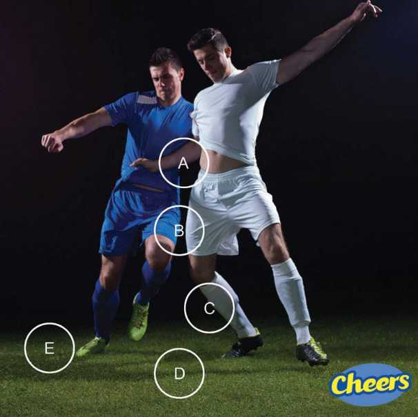 Cheers EuroCup Contest - Where's the Ball