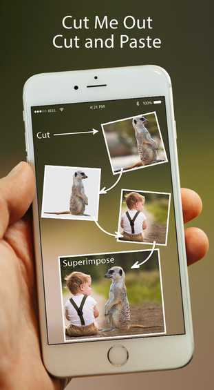 Free Photo & Video iOS App Cut Me Out Pro