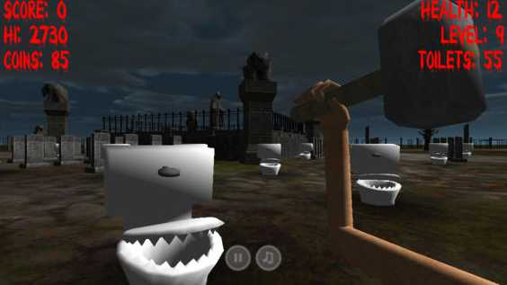 Free iOS Game Angry Toilets