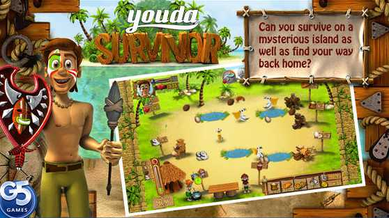Free iOS Game Youda Survivor (Full) By G5 Entertainment