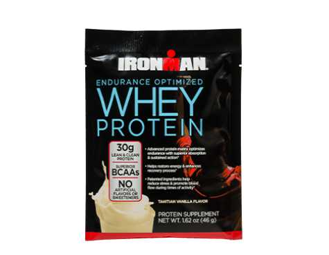 GET 2 FREE SAMPLES AT IRONMAN®