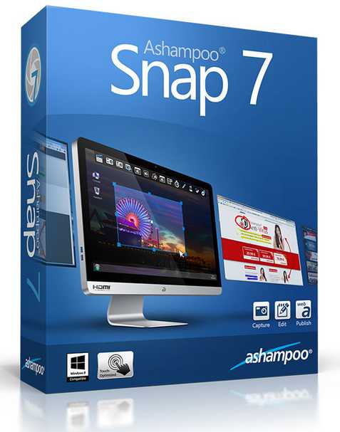 Get your Free Ashampoo® Snap 7 Full Version