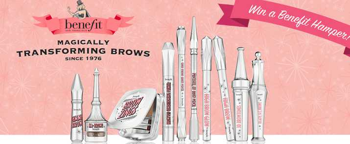 #WIN NEW brow collection and a Benefit hamper worth $1000 in total!