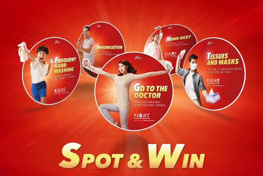 #Win $100 worth of shopping vouchers at Health Promotion Board, Singapore