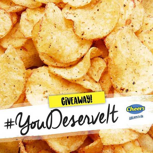 #Win 50 bags of potato chips at Cheers Singapore