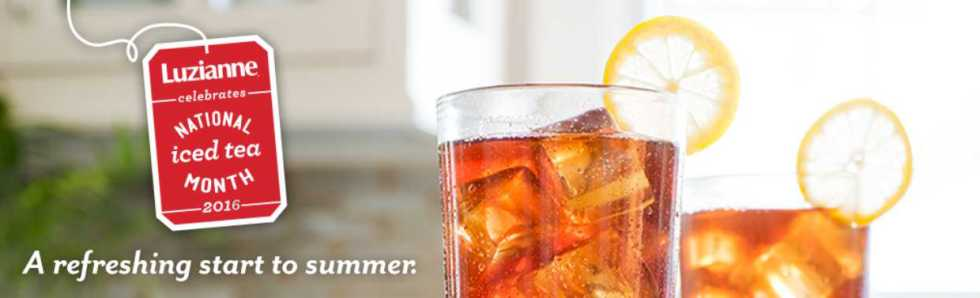 #Win Luzianne tea bags at 2016's National Iced Tea Month