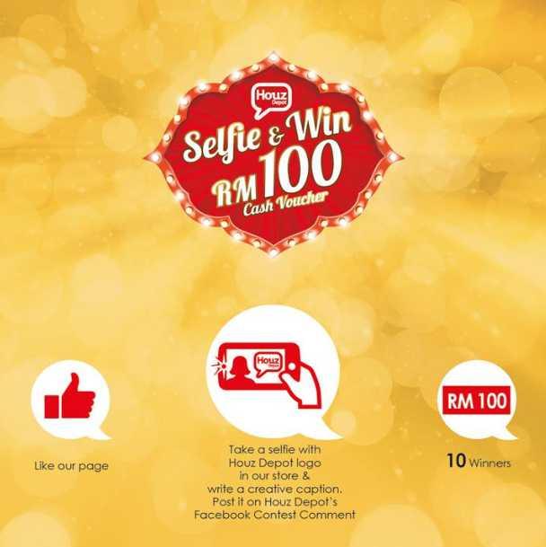 #Win RM100 Houz Depot cash voucher