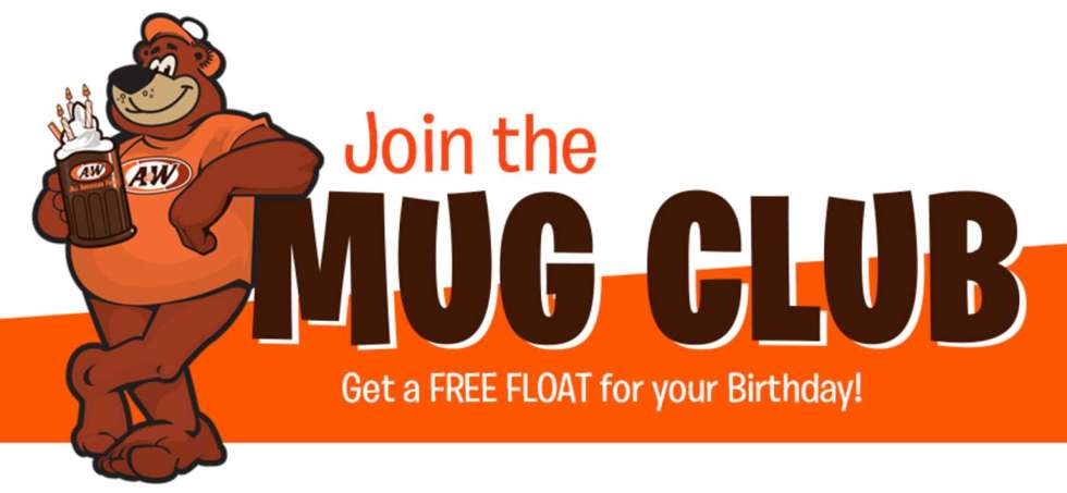 #FREE A&W Root Beer Float on your birthday