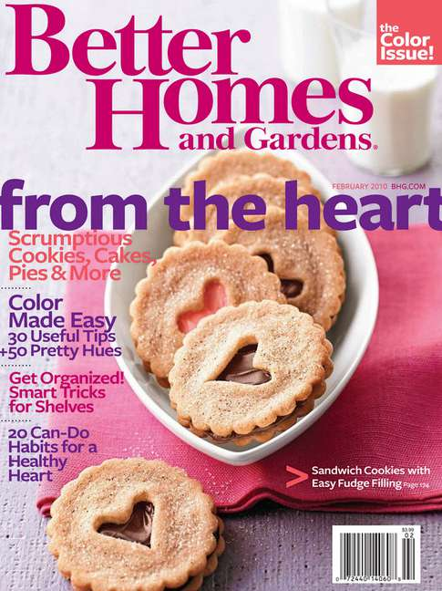 #FREE one-year subscription to Better Homes and Gardens Magazine