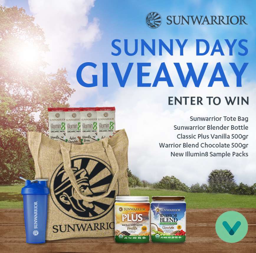 Vitamin World's Sunwarrior Sunny Days Sweepstakes