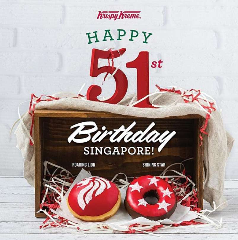#WIN 1 FREE night stay at any destination of your choice at Krispy Kreme Singapore