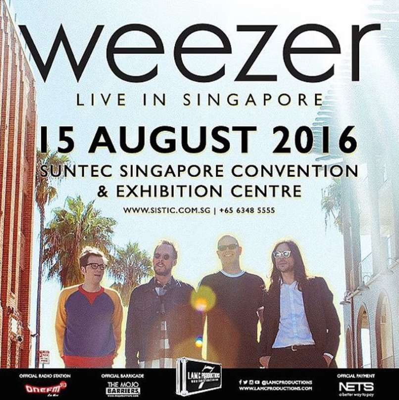 #Win a pair of tickets to catch The legendary American alt-rock band Weezer