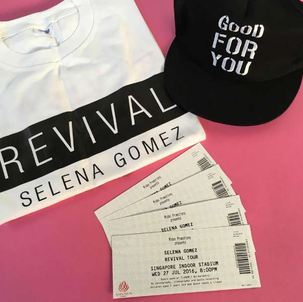 #Win tickets to Selena Gomez Revival Tour Live in Singapore at Nylon Singapore