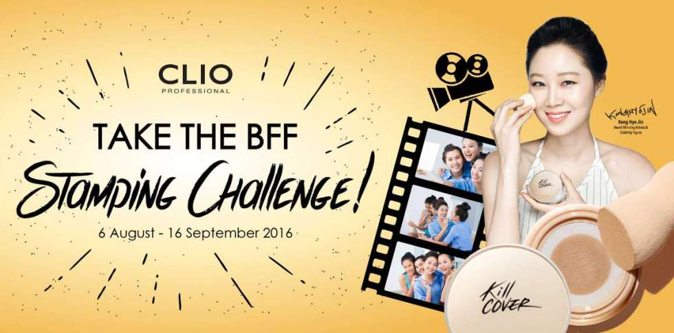 CLIO BFF Challenge & stand a chance to win fabulous prizes!
