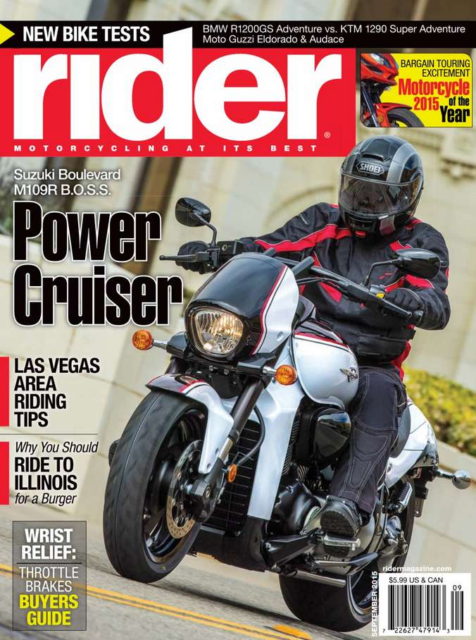 #Free one-year subscription to Rider Magazine