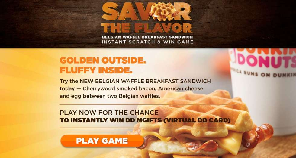 Savor The Flavor Instant Win Game And Sweepstakes